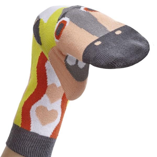 Einhorn Love Sockenpuppe MITTELALTER Größe 31-34 (7-8 J.)