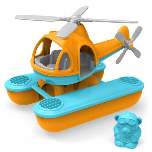 Wasserhelikopter, orange Kabine / Seacopter, orange cabin