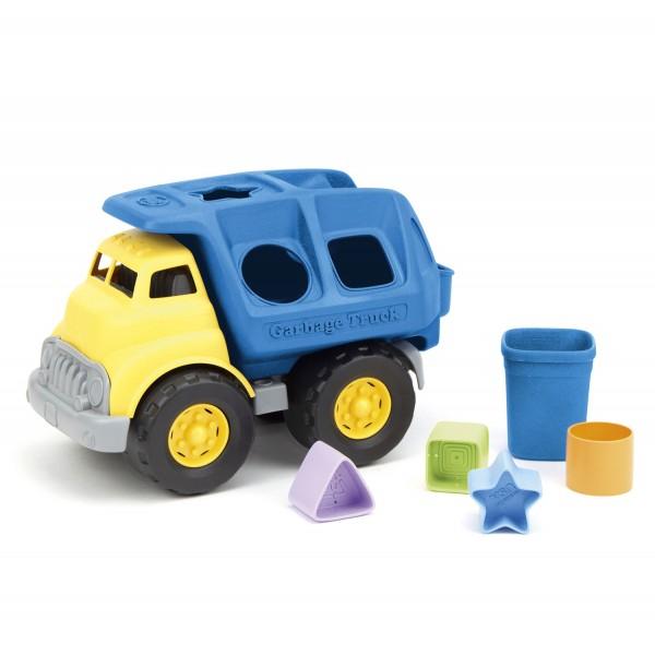 Müllfahrzeug als Formensortierer / Shape Sorter Truck