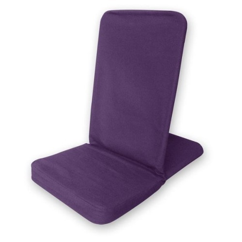 Bodenstuhl faltbar - purpur / Folding Backjack - purple