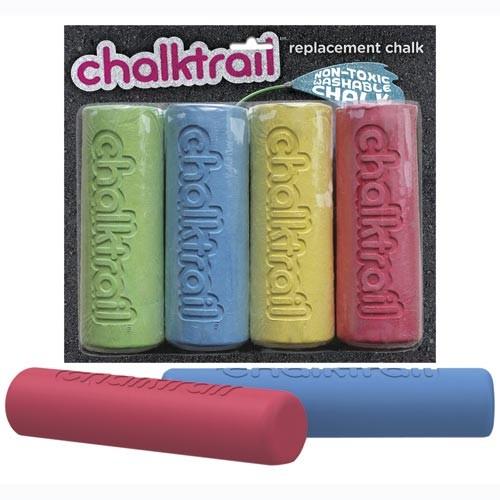 Chalktrail Chalk - 4 Ersatzkreiden