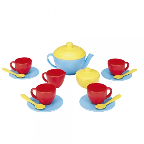 Spiel-Teeservice, blau / Playset tea, blue