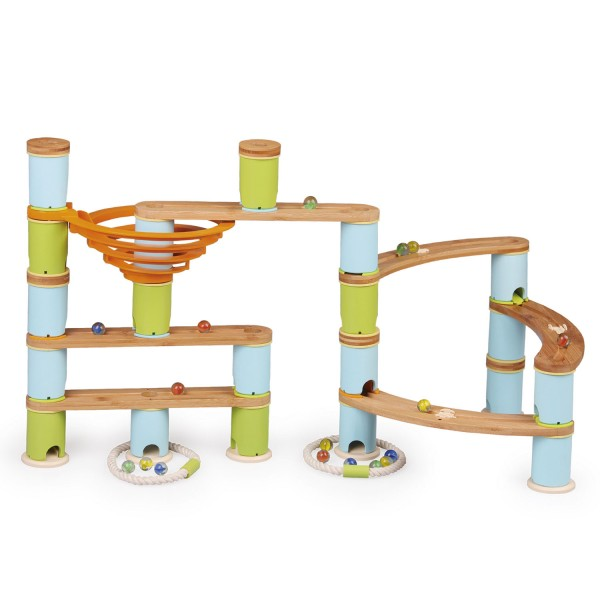 Kugelbahn: Bamboo Build & Run (89 pcs) MEDIUM 1