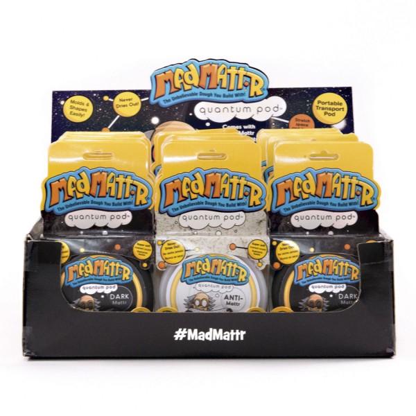 Mad Mattr Dark Mattr+Anti Mattr Quantum PodsDisplay - 18 Pack NEU