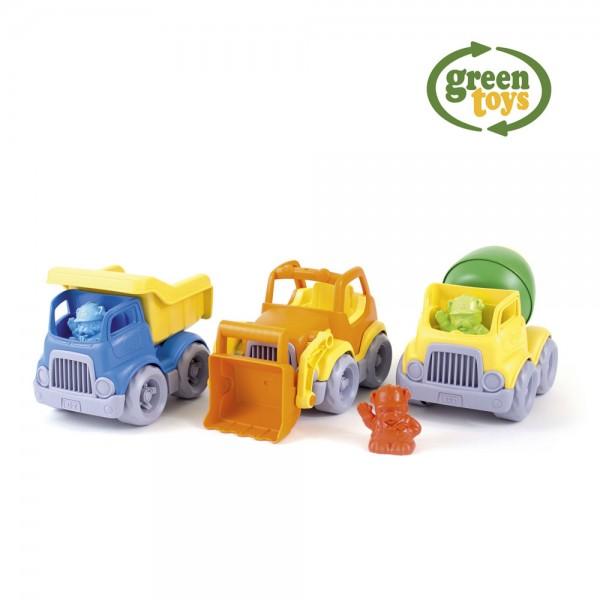 Baustellenfahrzeuge-Set / Construction Trucks Gift Set
