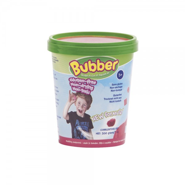 Bubber Eimer, 200 g - rot / red
