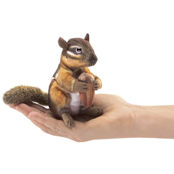 Mini Streifenhörnchen mit Eichel / Mini Chipmunk with acorn