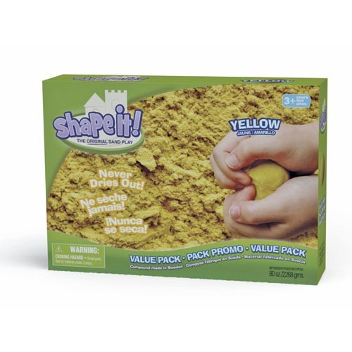 Shape it! Value Pack 2270 g yellow