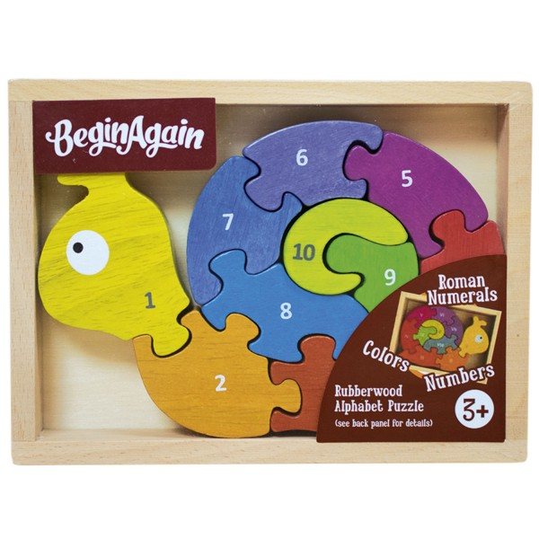 Zahlenschnecke - Number Snail Puzzle