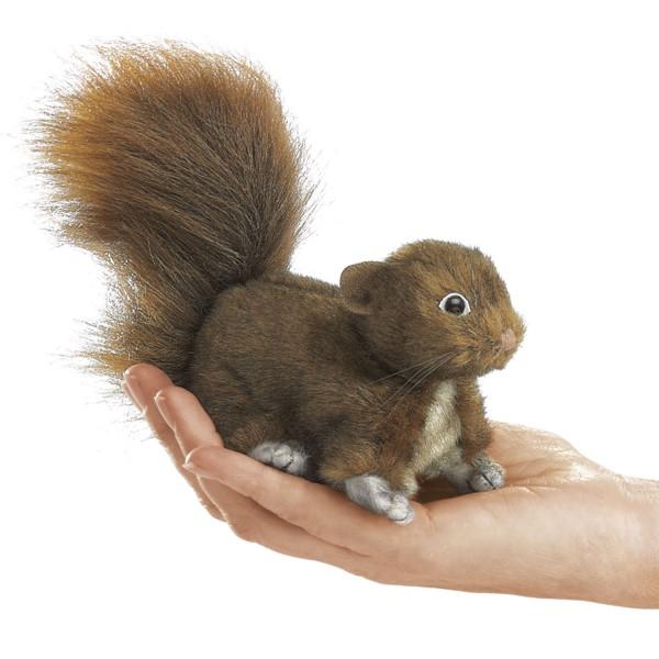 Mini Eichhörnchen, rot / Mini Red Squirrel