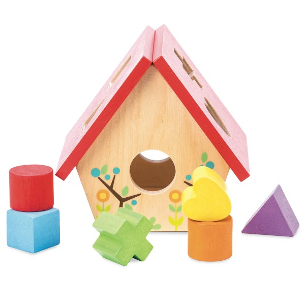 Mein kleines Vogelhaus - Formen Sortierspiel / My Little Bird House - Shape Sort