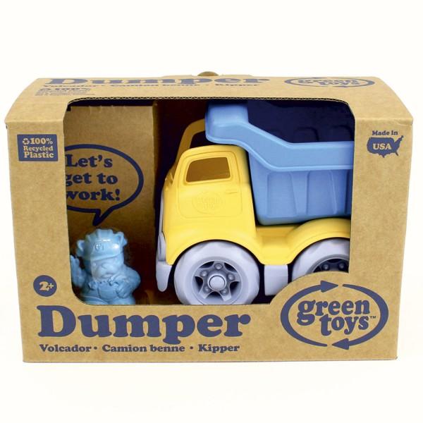 Baustellen Laster / Dumper - Construction Truck blau/gelb