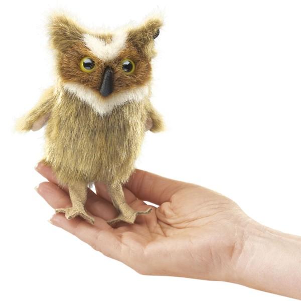 Mini Uhu / Mini Great Horned Owl