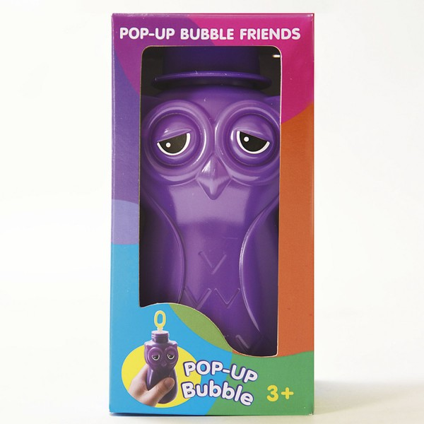 Pop-up Bubble Friends - Eule / Seifenblasen - Owl