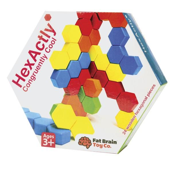 HexActly - Construct with wooden Hexagons
