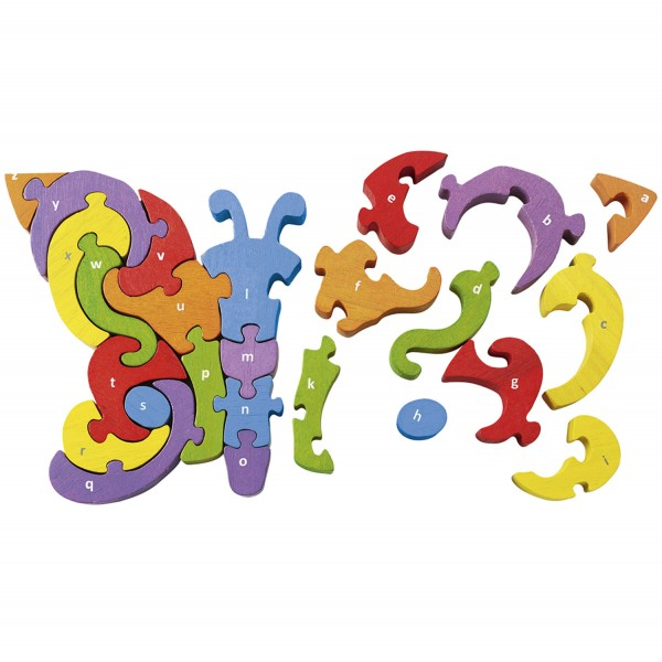 Schmetterling A-Z - Butterfly A-Z Puzzle