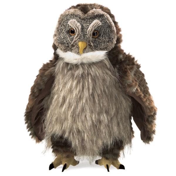 "Eule mit ""Huhu – Effekt"" / Hooting Owl"