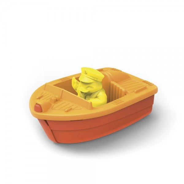 Race Boat, orange