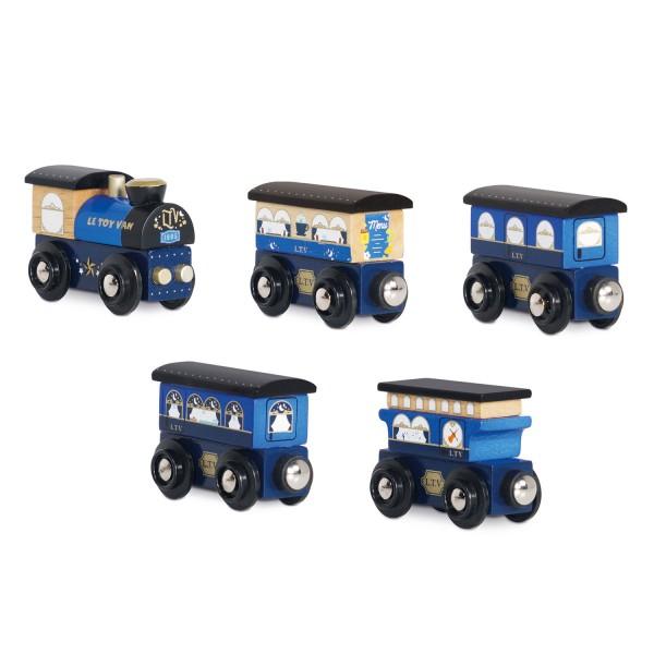 Twilight Train blue