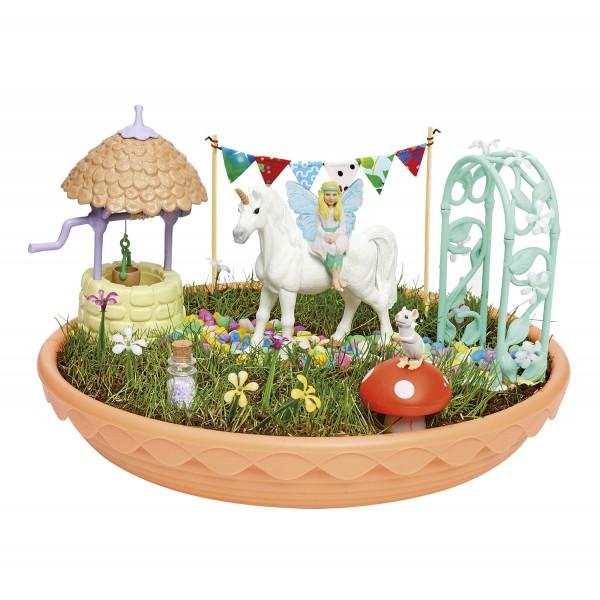 Magischer Einhorn-Garten