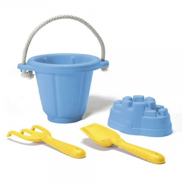 Sandspiel-Set 4-teilig, blau / Sand play set, blue
