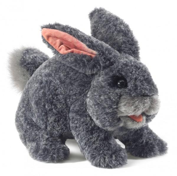 Häschen in grau / Gray Bunny Rabbit