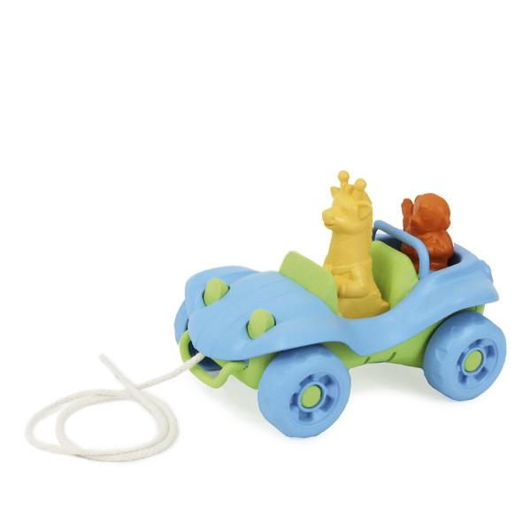 Nachziehauto - blau / Dune Buggy Pull Toy - blue