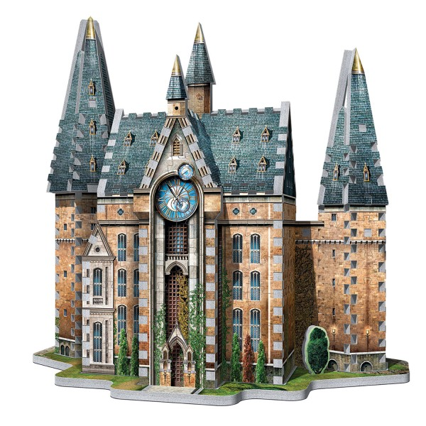 Hogwarts Clocktower Harry Potter (420 Teile) - 3D-Puzzle