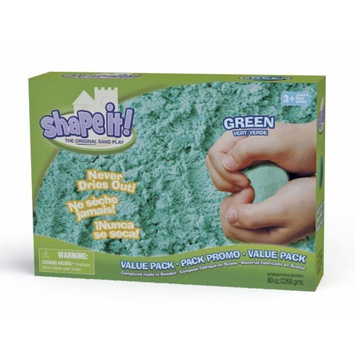 Shape it! Value Pack 2270 g green