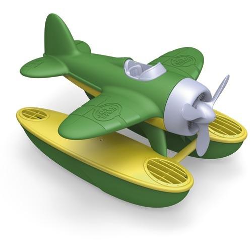 Wasserflugzeug, grün / Seaplane, green