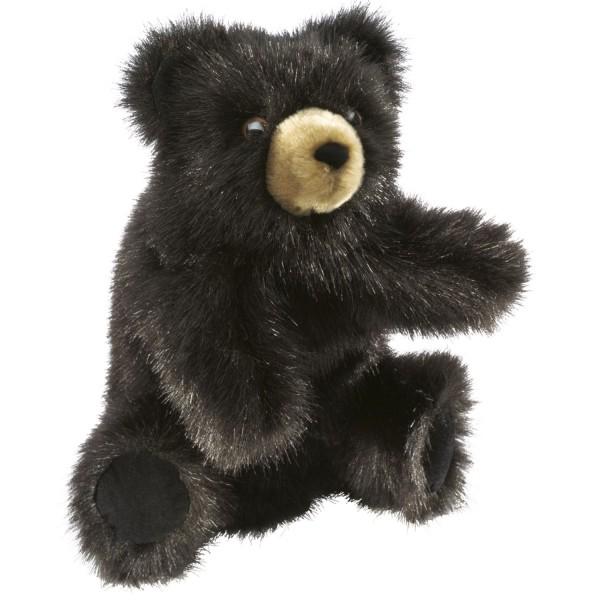 Kleiner dunkelbrauner Bär / Baby Black Bear
