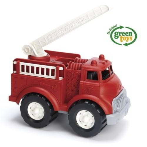 Feuerwehrauto, rot / Fire truck, red