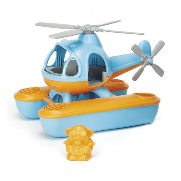 Wasserhelikopter, blaue Kabine / Seacopter, blue cabin