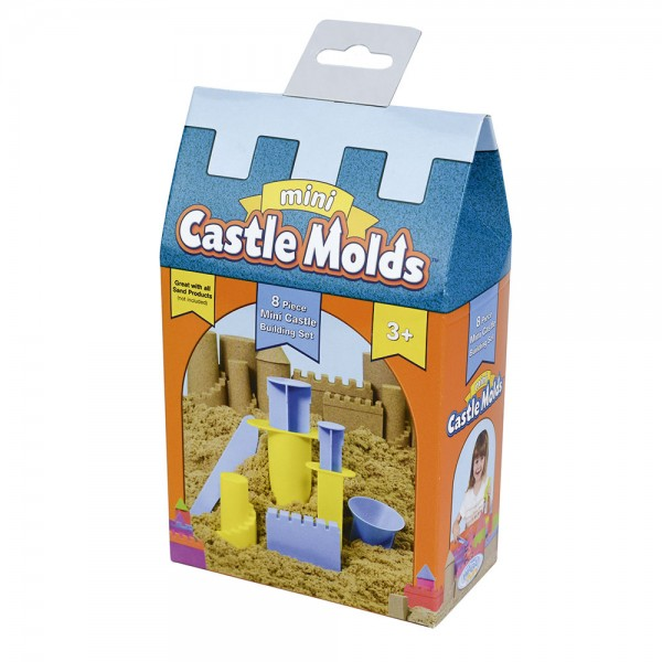 Burgformen klein / Mini Castle Molds
