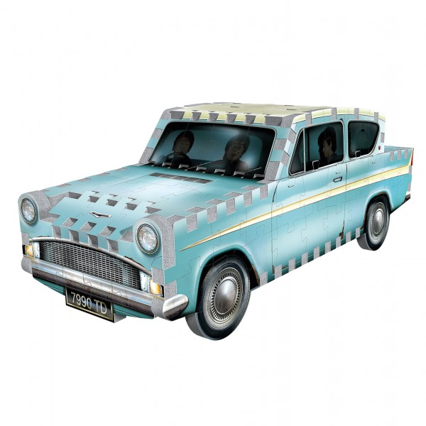 Flying Ford Anglia (130) - 3D-Puzzle