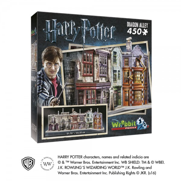 Winkelgasse / Diagon Alley - Harry Potter / 3D-Puzzle