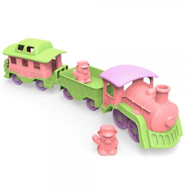 Eisenbahn, pink / Train, pink