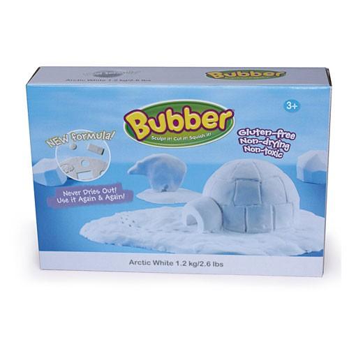 Bubber Box, 1200 g - weiß / white