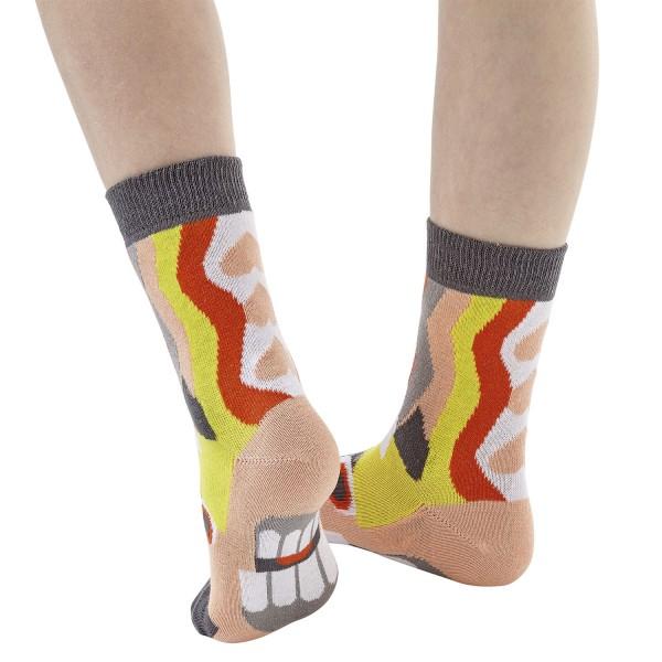 Einhorn Love Sockenpuppe MITTELALTER Größe 27-30 (5-6 J.)