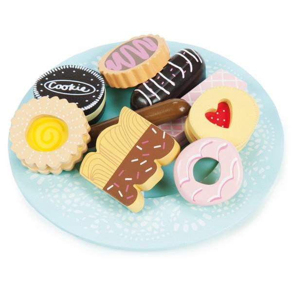 Kekse und Teller Set / Biscuit and Plate Set