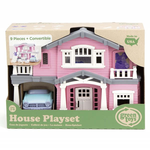 Haus Spielset pink / House Playset pink