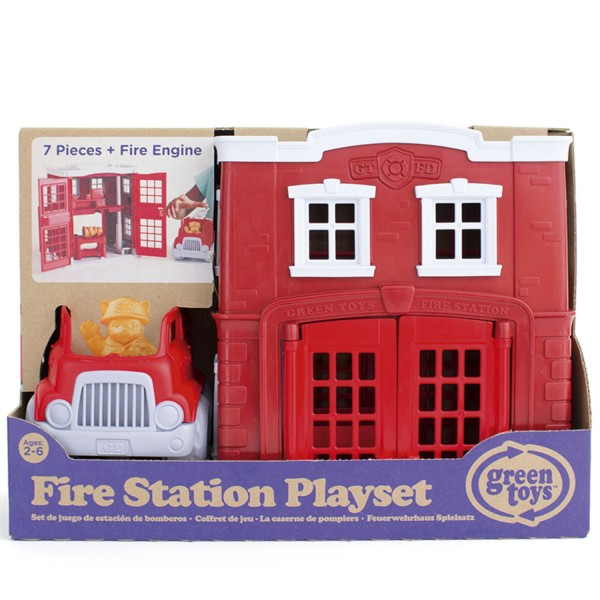 Feuerwache Spielset / Fire Station Playset