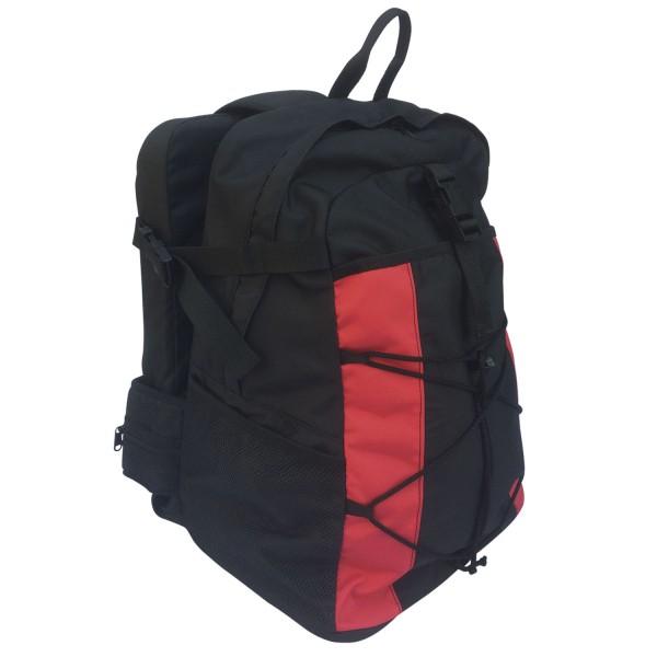 BackJack Rucksack schwarz/rot / Backjack BackPack black/red