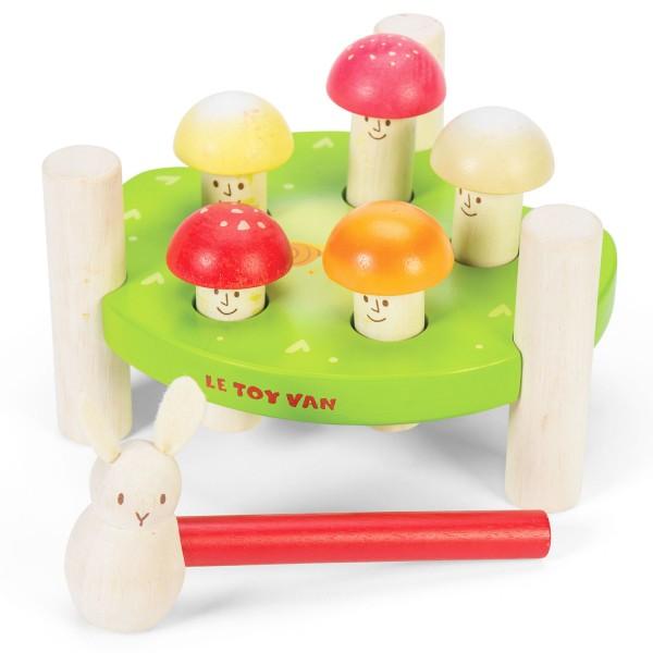 "Hammer Game ""Mr. Mushrooms"" / Hammerspiel ""Herr Pilz"""