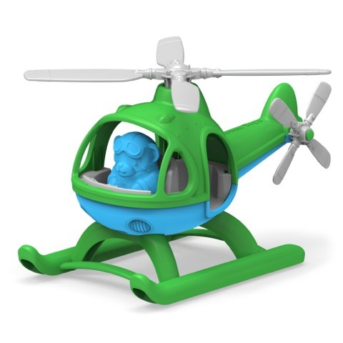 Helikopter, grün / Helicopter, green