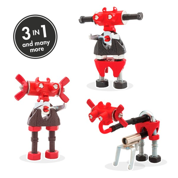 ARTBIT, red 3-in1 robot character