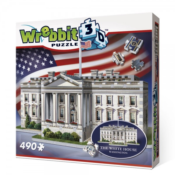 The White House - Washington / 3D-Puzzle