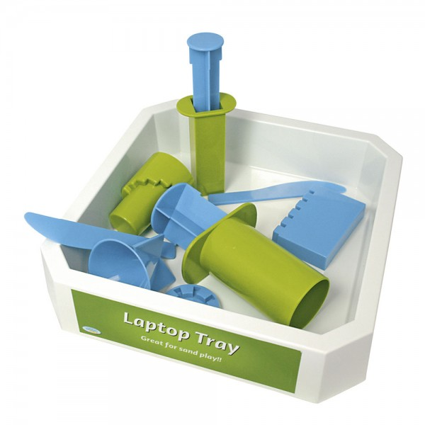 Demo Tray for Bubber and Shape it! incl. castle molds