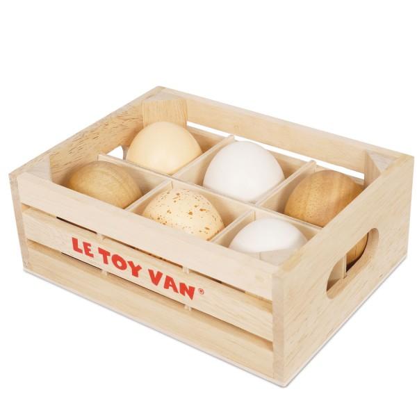 Frische Eier, ein halbes Dutzend / Farm Eggs Half Dozen