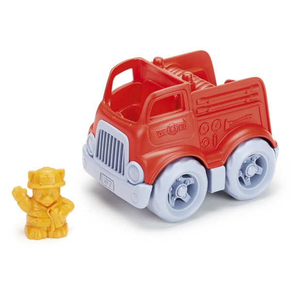 Feuerwehrauto mit Fahrer / Fire Engine with Character